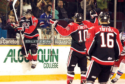 Shane Prince celebrating his GWG against his former team.