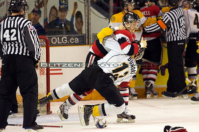 This tilt between Van Stralen and Dundas was brewing all game up to this point.  Stralls gets the take down.
