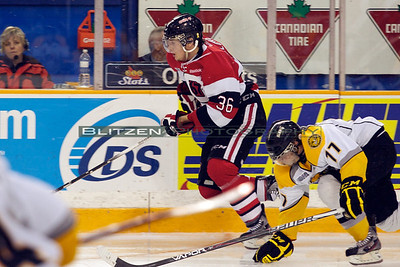 Hardest working 67's, for the third straight game:  Taylor Fielding