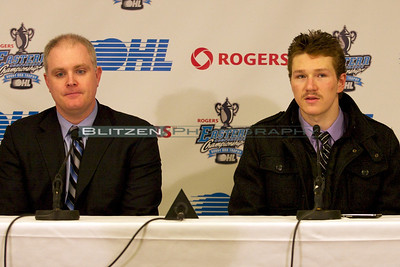 Post-game presser:  Chris Byrne and Tyler Toffoli
