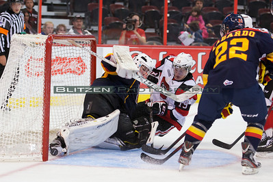 The disallowed goal - courtesy of Robert Lefebvre of Ice Level Photography