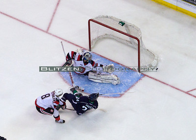 The call against Van Stralen that led to the penalty shot.