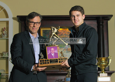 """The Smitty Salute"" Bill Patterson memorial award to the Rookie of the Year:  Travis Konecny"