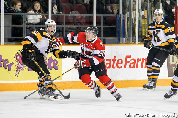 Hardest working 67's:  Trent Mallette