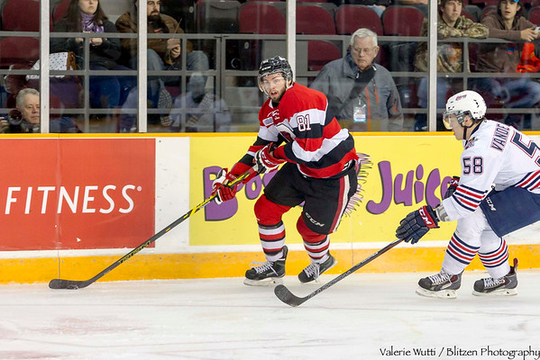 Hardest working 67's:  Nathan Todd