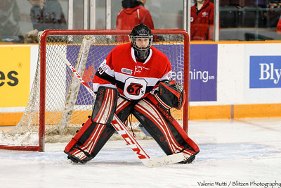 Quick call up to be the backup goalie - Reilly Tondreau