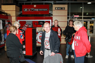 This gentleman told me that he was at the very first game the Ottawa 67's played (played at the Hull arena).