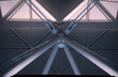 Stanstead Airport Ceiling Node Detail