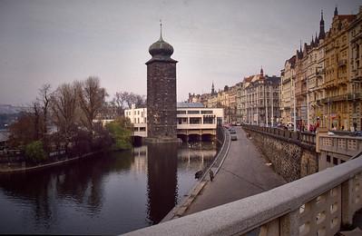 Prague. The Manes Building.