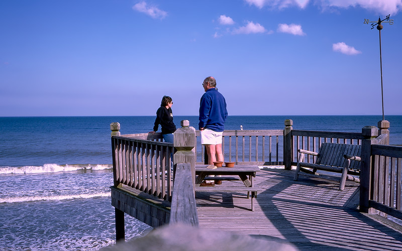 OBX 1997 - The amazing deck of the Pompous Pelican