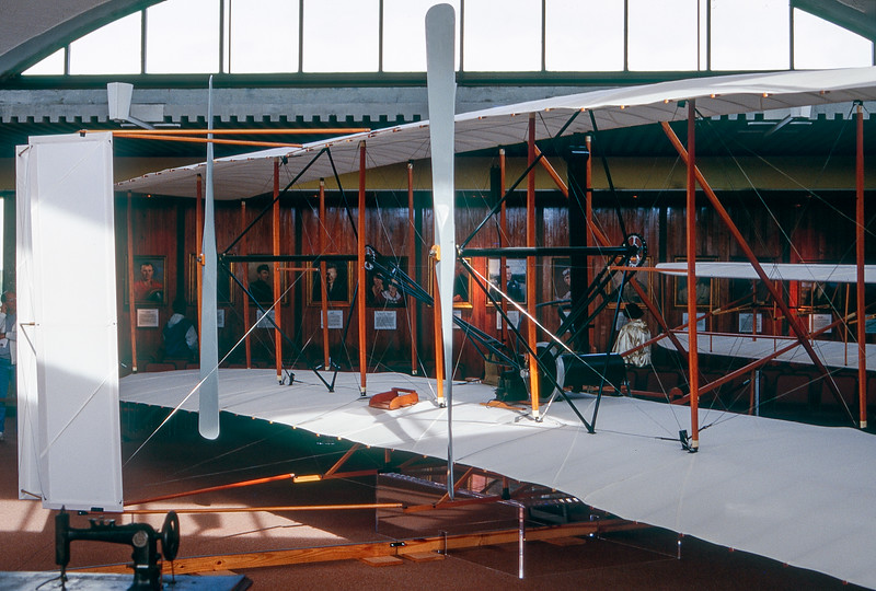 Wright Brothers plane - Kitty Hawk - 1996