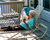 Mom loved reading novels - OBX 1998