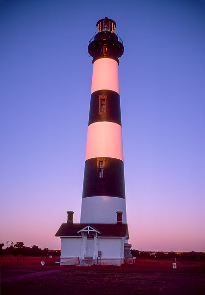OBX 1997 - Bodie Lighthouse at sunset
