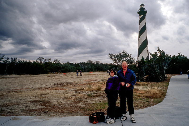 OBX 2000 - Hatteras lighthouse at new location