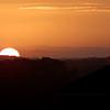 OBX sunset - November 19, 2001