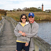 Walkway by the Currituck Lighthouse - October 31