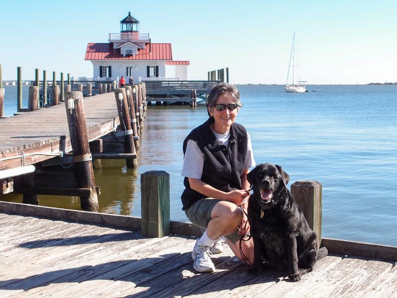 Roanoke Marshes Lighthouse - October 2011