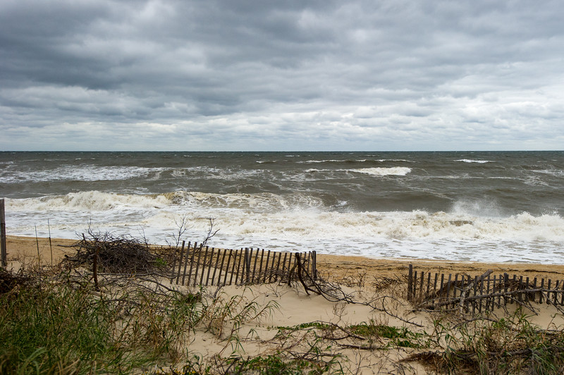 Turbulent ocean after the Nor'Easter - October 29, 2011
