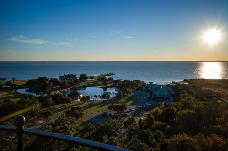 View from atop Currituck Lighthouse