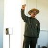 Bodie lighthouse ranger giving historic summary