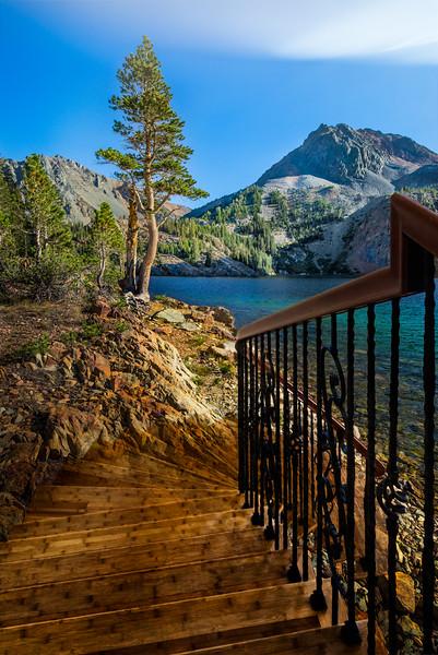 Lakeside Stairway