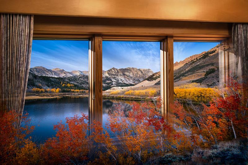 Magic Window View on North Lake Dawn