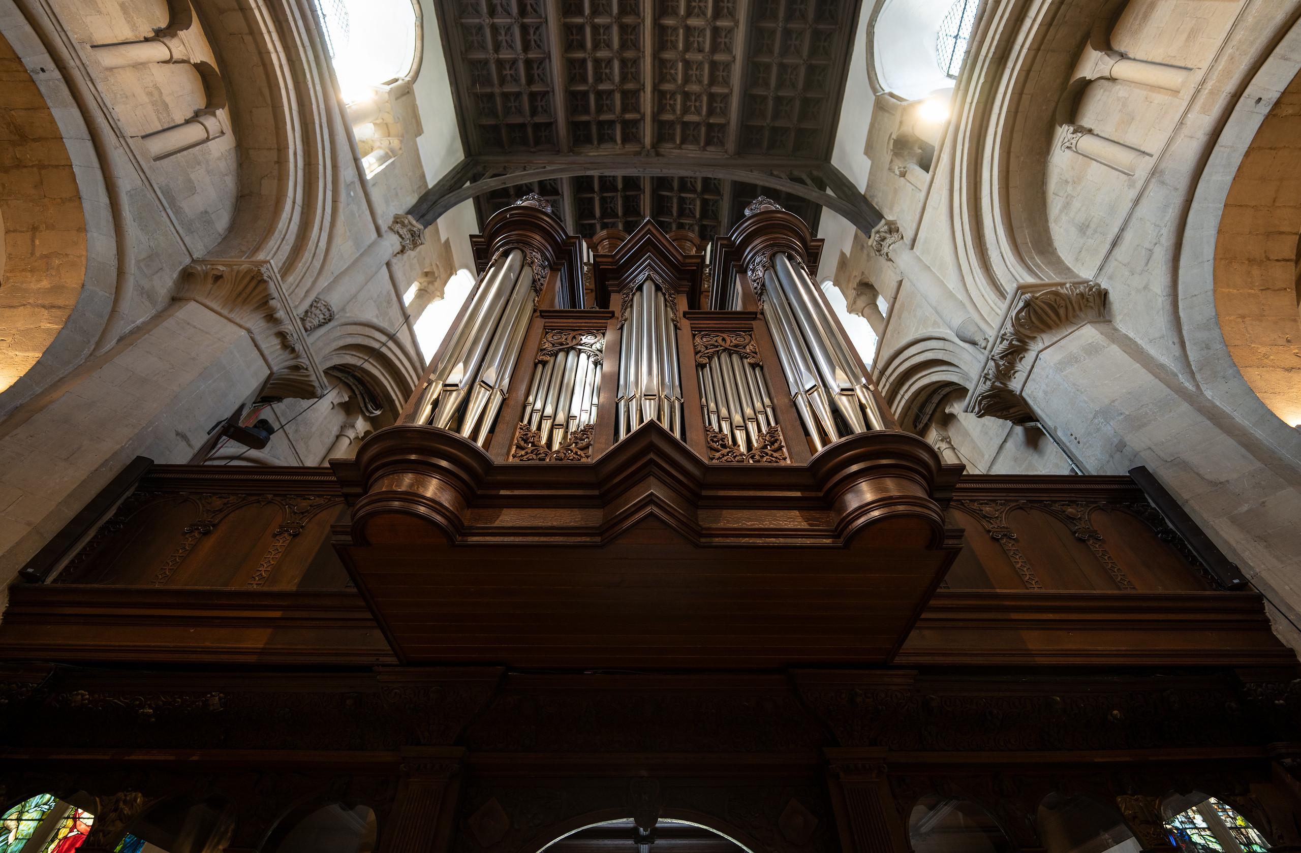 Organ Cathedral at Christ Church, Oxford University