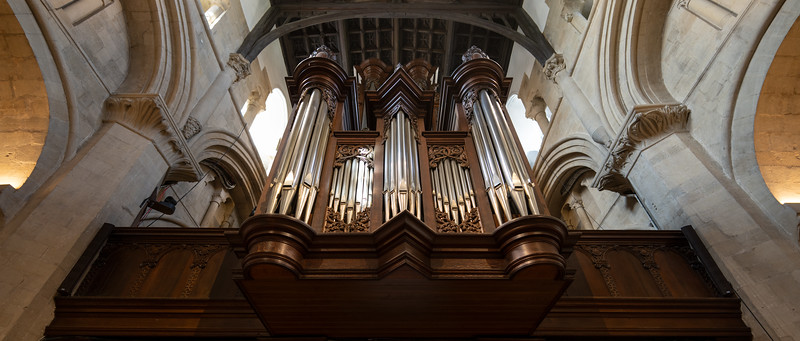 Organ of Christ Church Cathedral, Oxford University (Aug 2021)