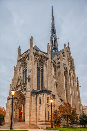 Heinz Chapel from Brody's POV