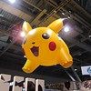 A giant pikachu balloon