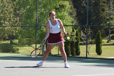 Lindsay Nevin, Girls 1st Singles.  Photo by Franklin Brown