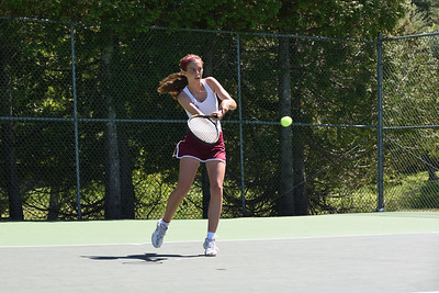 Courtney Bianco, Girls 3rd Singles.  Photo by Franklin Brown