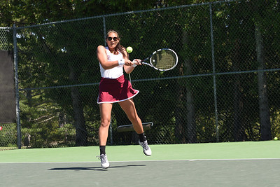 Julianna Allen, Girls 2nd Singles.  Photo by Franklin Brown