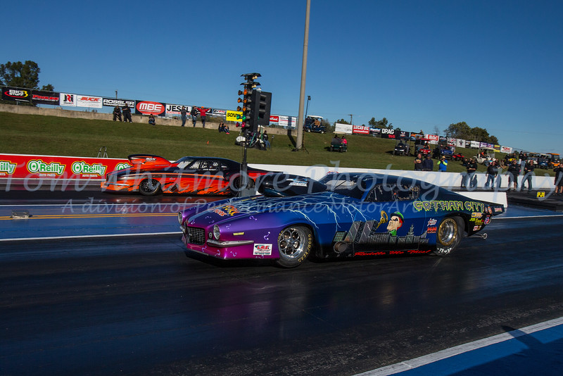 "Professional Drag Racing Association held their ""World Finals"" at Virginia Motorsports Park in Dinwiddie, VA. The event was scheduled for Oct 20-22…however due to car count and a bit of bad weather, the event lasted through Sunday the 23rd."