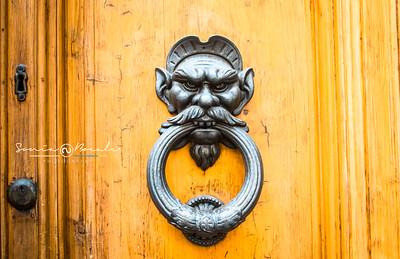 Vintage Italian Door Knocker , Venezia