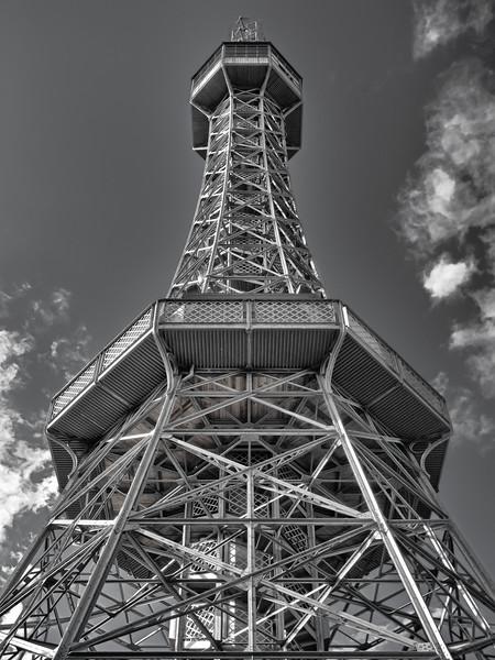 Petrin View tower - Prague's Eiffel Tower