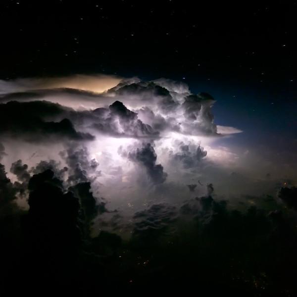 Thunderstorm over Northern Pakistan