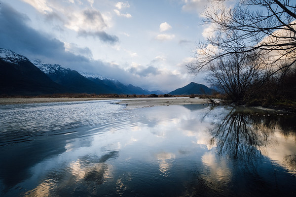 Pastel Reflections - Glenorchy