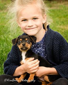 Annieka & pup