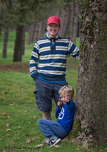 Mart & Finn at Vimy 2014