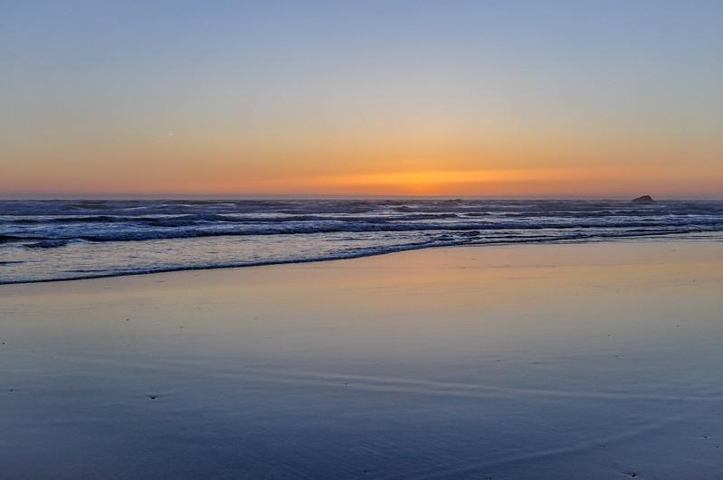 Northern California Pacific Coast Sunset