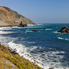 Rough Pacific Ocean Waters