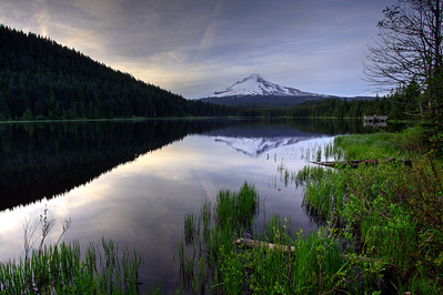 Mt.Hood and Trillium lake