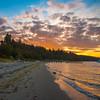 Sunset at Kala Point
