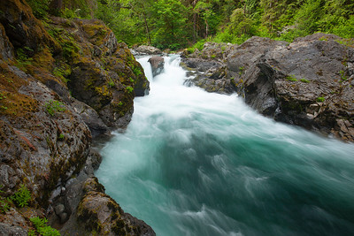 Sol Duc River. Olympic