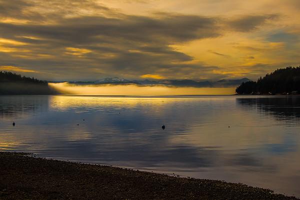 Hood Canel Sunset