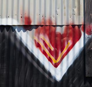Graffiti Detail, Berkeley, 2015