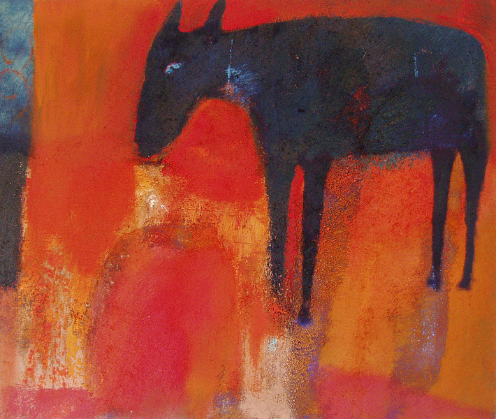 """cabra azul"" blue goat in private collection"