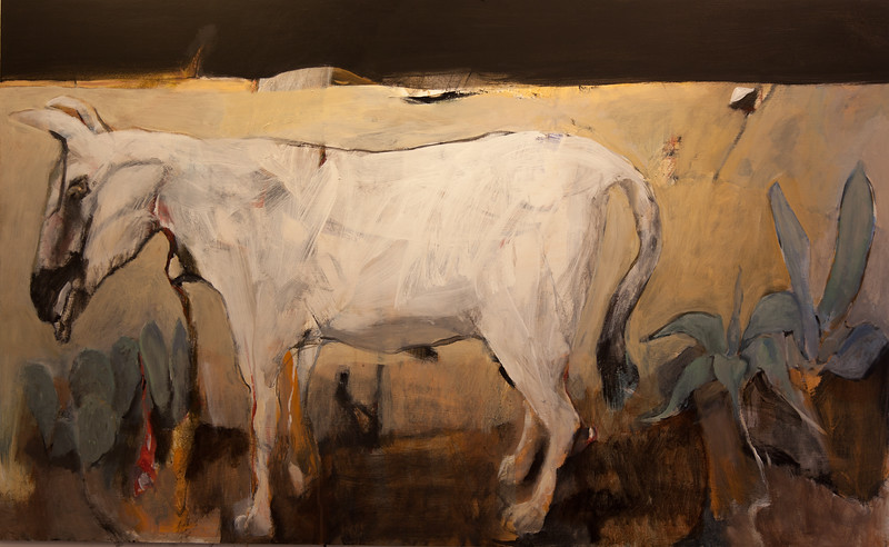 Mule in landscape