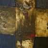 the cross - la cruz<br /> 116cm x 73cm <br /> oil / earth on canvas <br /> 116cm x 73cm